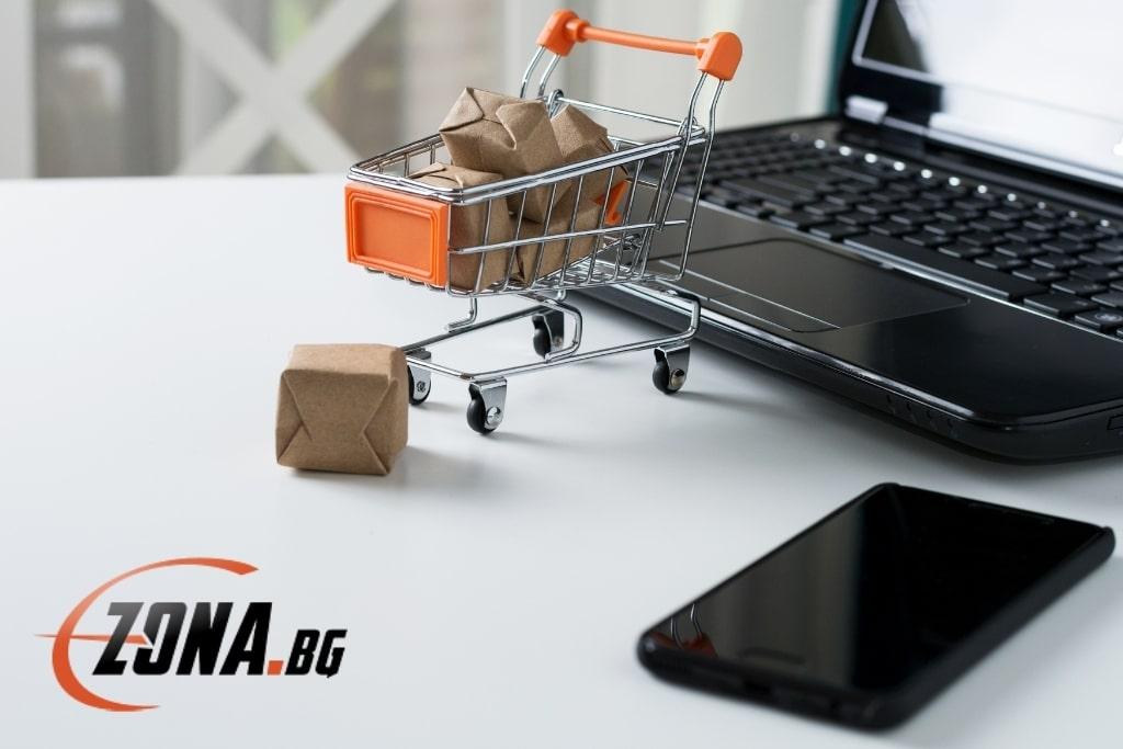 E-zona онлайн магазин - маркетинг